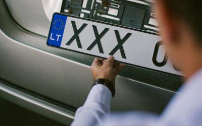 Automobilio su lietuviškais numeriais registracija Danijoje